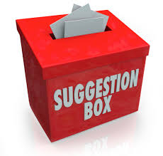 Image result for suggestion box