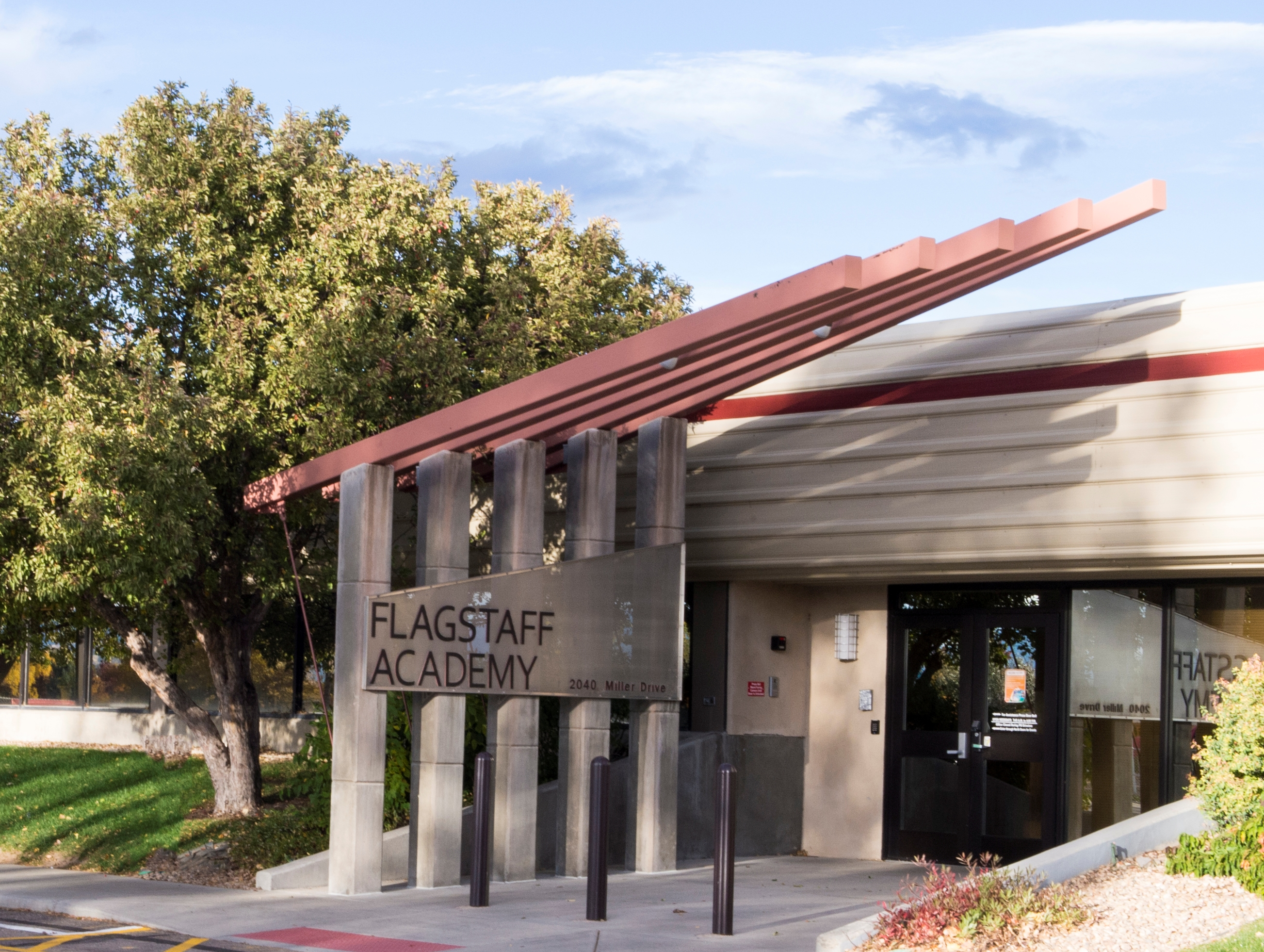 Front of Flagstaff Academy